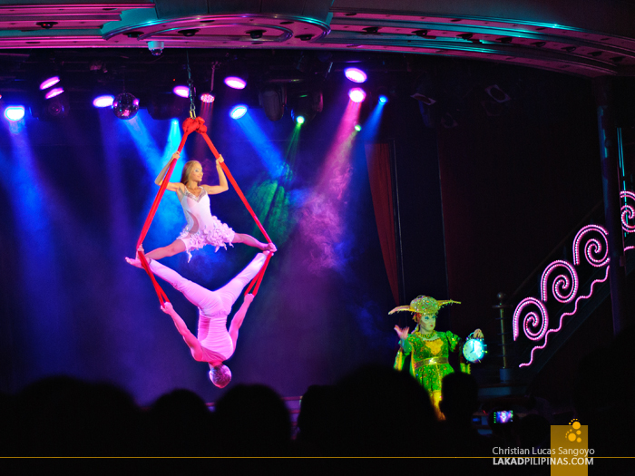 Nightly Show at the Star Cruises Superstar Aquarius