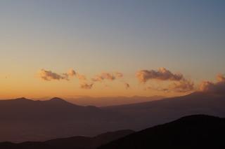 109 Uitzicht vanaf mt Komagatake