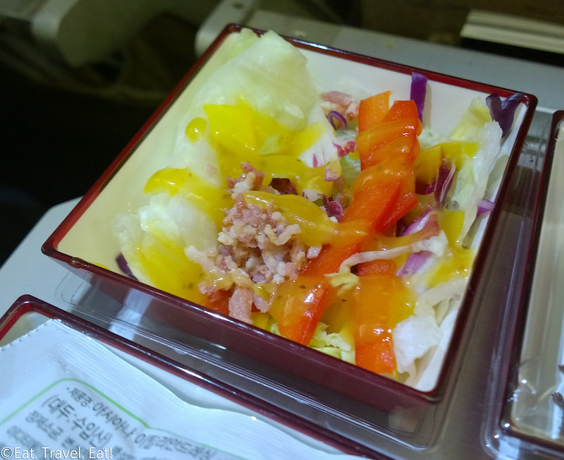 Asiana Airlines ICN-PEK: OZ 333 Salad