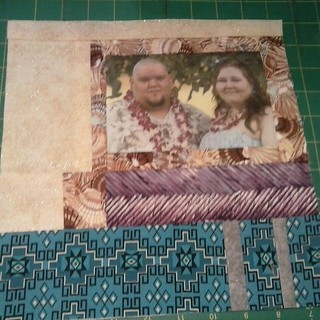Block Six w/Wedding photo