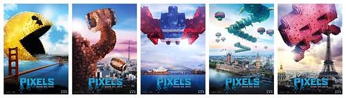 映画『ピクセル』世界侵略バナー