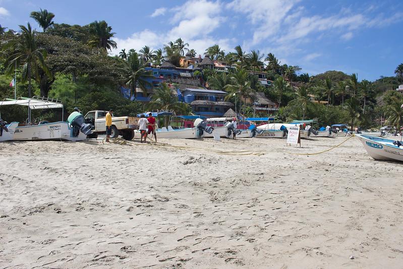 boats, Sayulita, Mexico