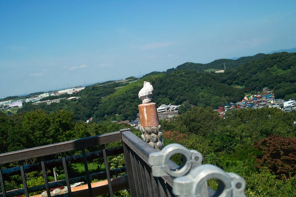 白山丸展望台からの眺めは素晴らしい