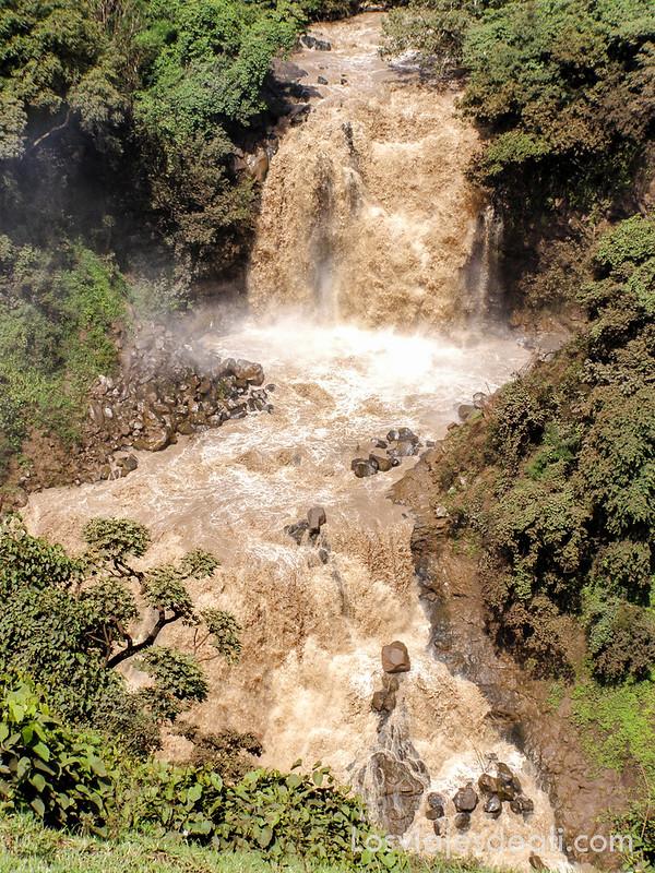 cataratas del Nilo Azul