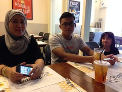 Lunch at Pizza Plus, Bandar Sri Permaisuri
