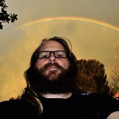 #rainbow going down in #Hemet