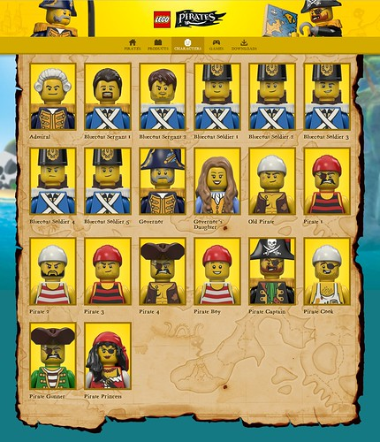 www - Characters - Pirates LEGO.com