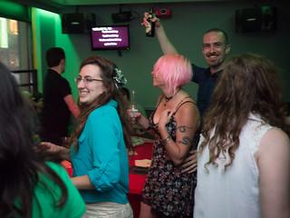 Judith and Natalie's Wedding Karaoke