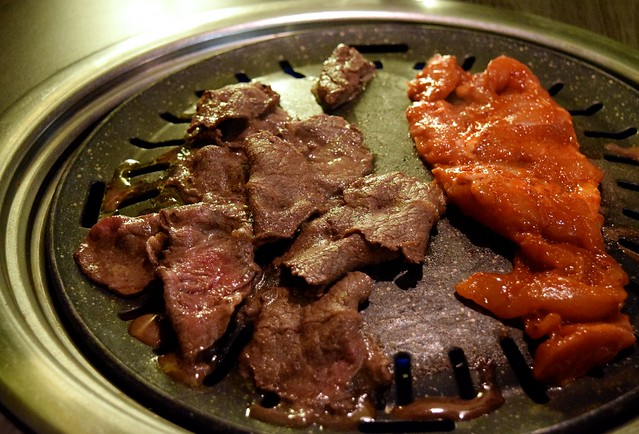Korean Barbecue Beef & Chicken, Koba Fitzrovia