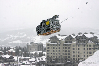Mutts Cutts won last year's Dummy Jump. (Lonnie Ball/Big Sky Resort)