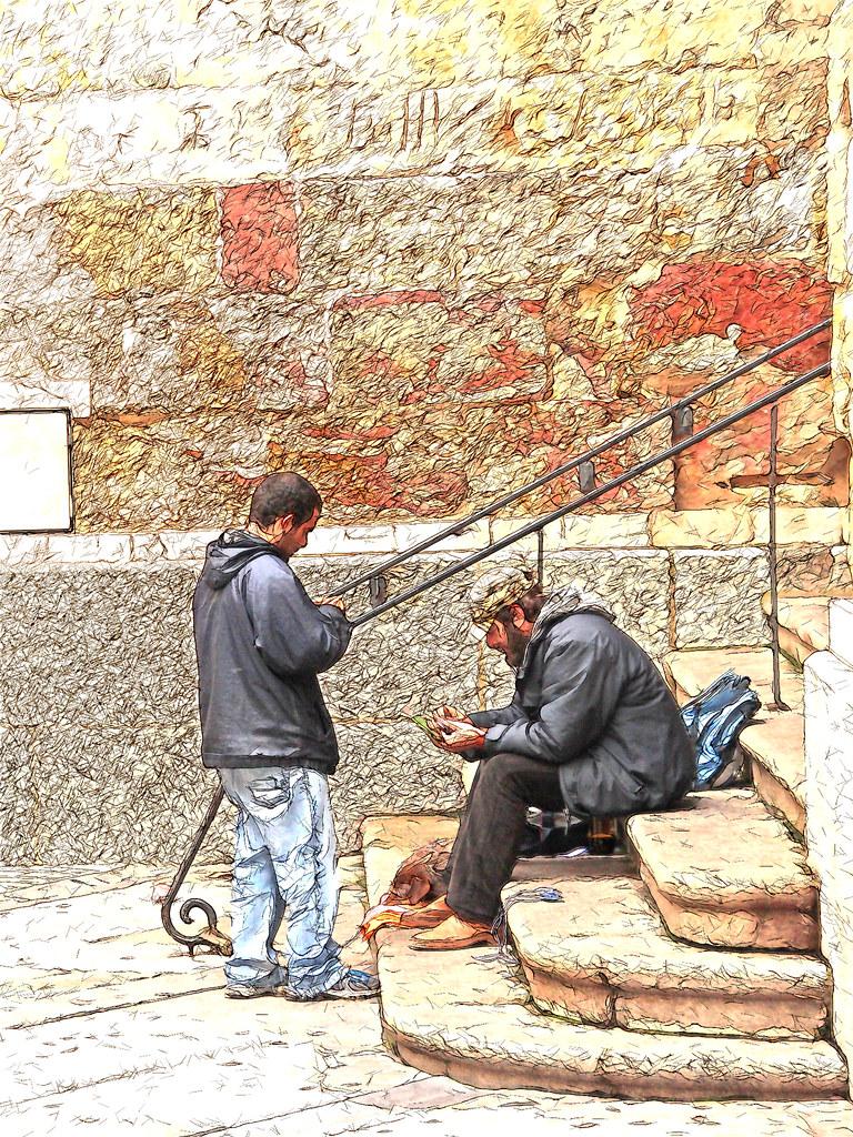 en las calles de Salamanca