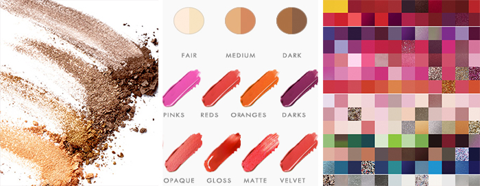 Makeup Colour Matchers