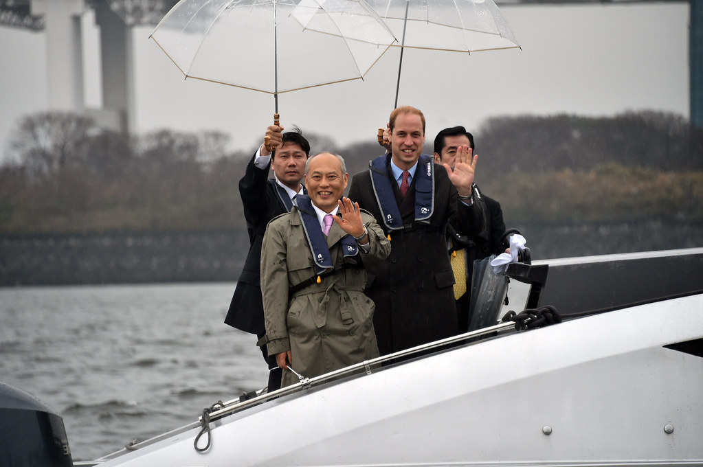 Duke of Cambridge visits Japan