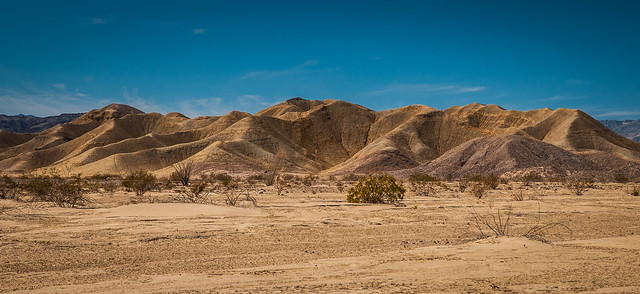 More of the Carrizo Badlands of Anza Borrego