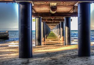 Urangun Pier HDR Surreal