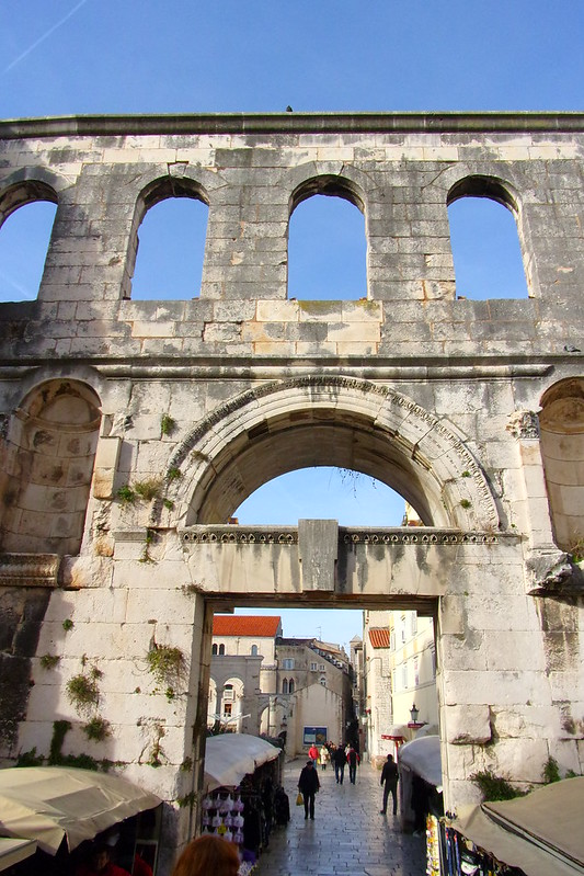 East Gate, Diocletian's Palace