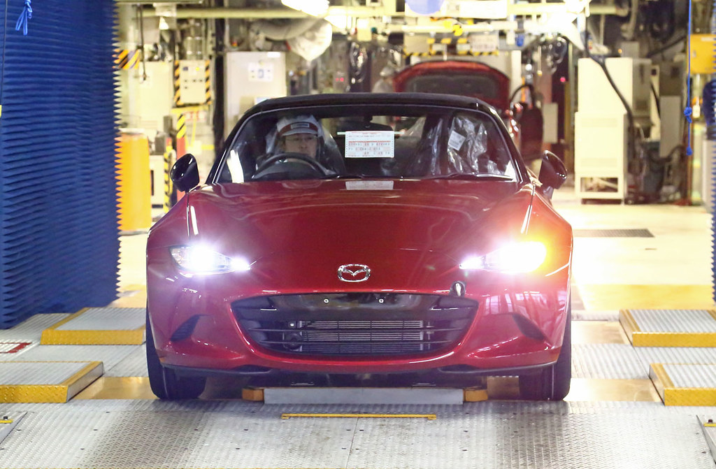 Mazda begins production of the all-new MX-5