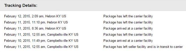 Package progress