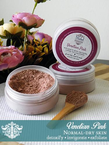 Venetian Pink Clay Scrub & Mask