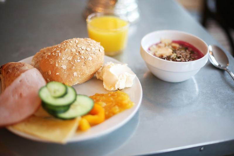 frukostbuffé på YSB