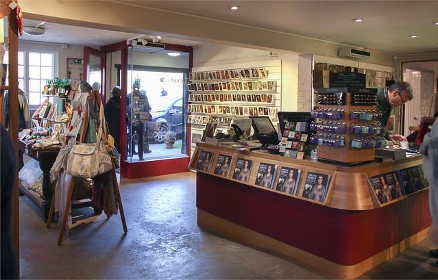 Visitor Centre - shop