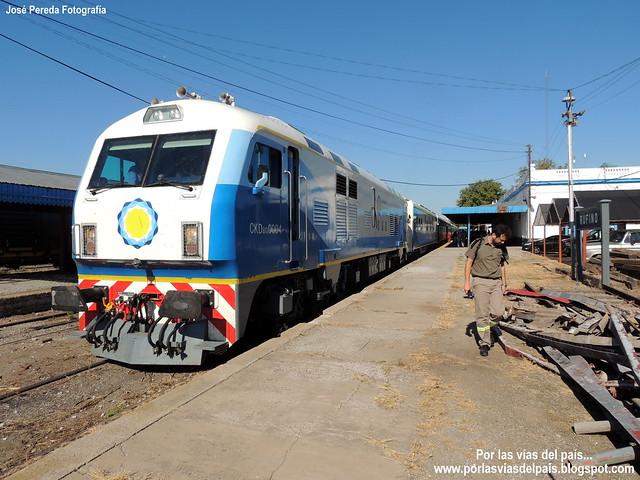 Tren 565 Estación Rufino...