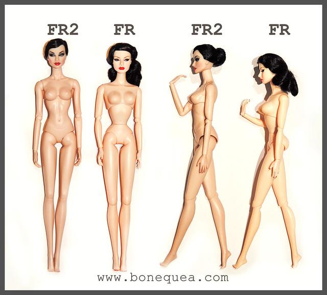 FR & FR2 body comparison.