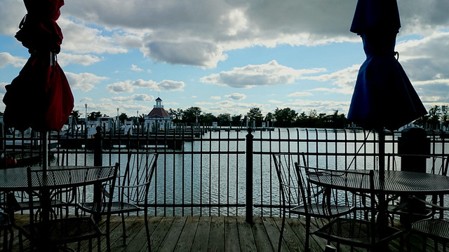 Lunch on the Pier at Cedar Point