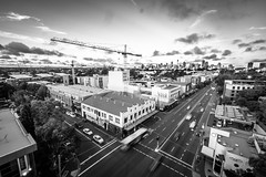 Camperdown City Skyline B&W-1