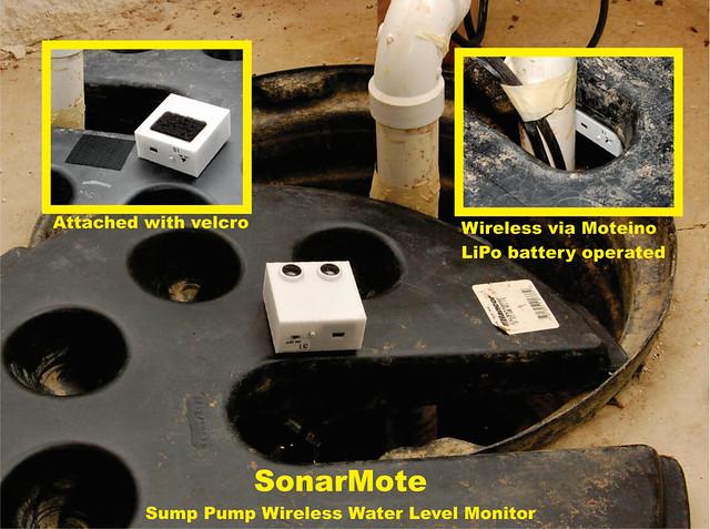 SonarMote - Sump Pump Monitor