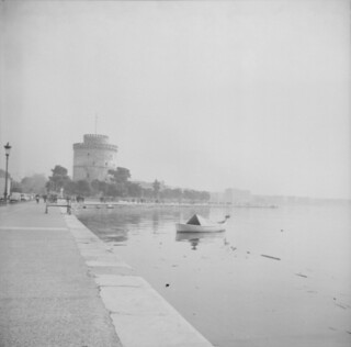 foggy Thessaloniki