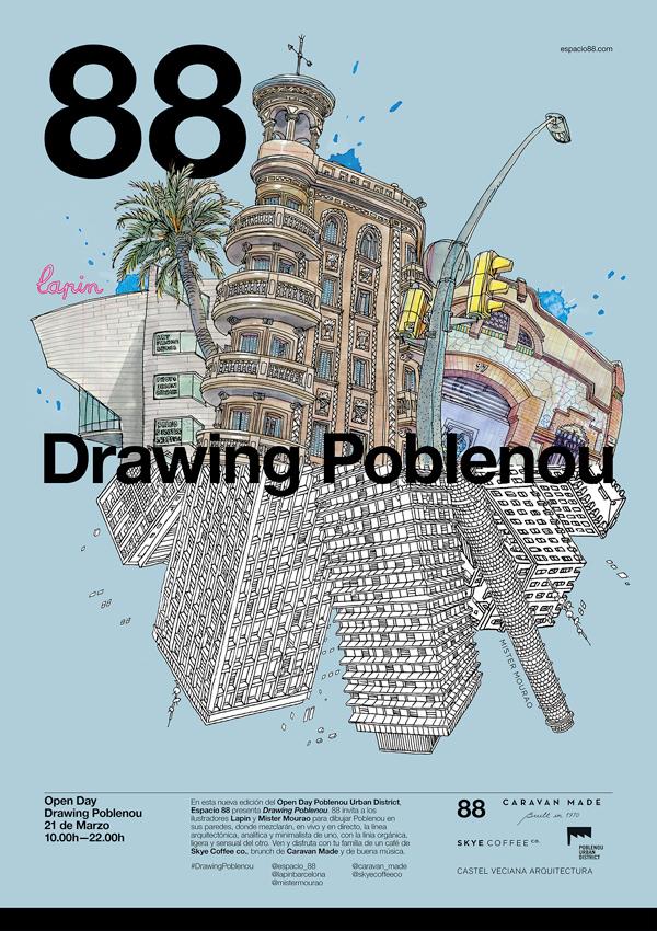 drawing poblenou