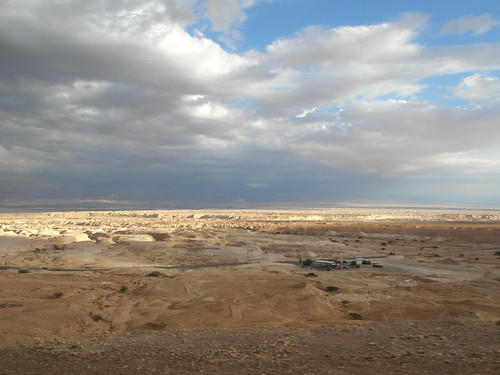 sky israel desert negev