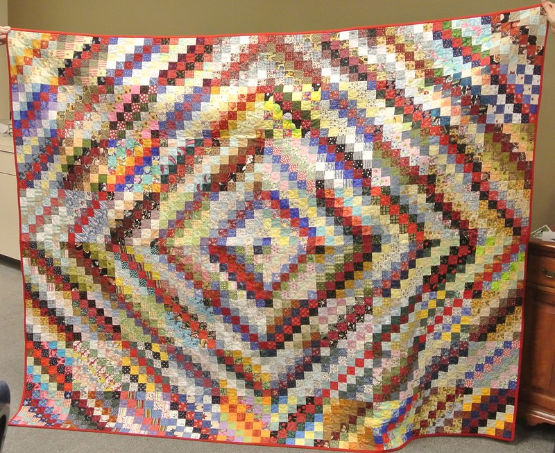 Rema's Quilt quilted by Barb