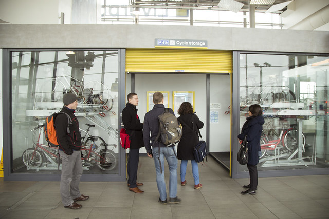 BiTiBi - Bike Train Bike - Meeting in Liverpool - March 2015