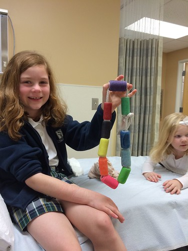 She picked a purple cast