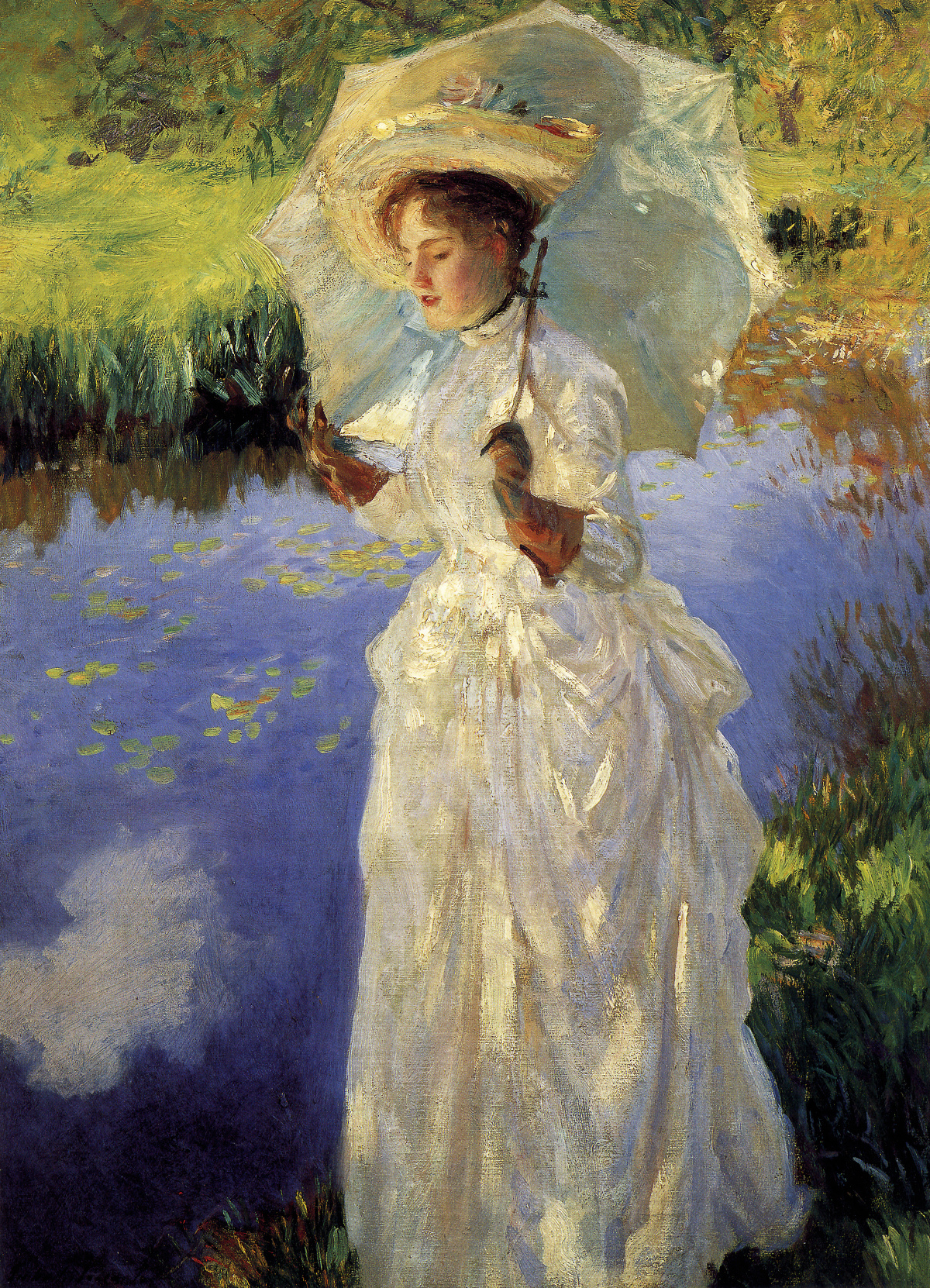 Morning Walk by John Singer Sargent, 1888