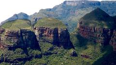 Three Rondavels, Blyde River Canyon Viewpoint, Blyde River Canyon Nature Reserve, Mpumalanga, South Africa