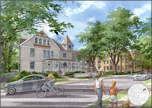 Packard Crossing Renderings