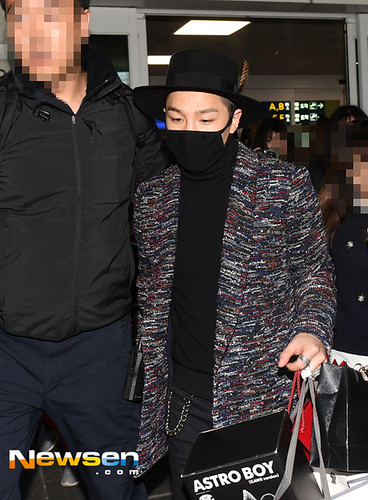 Big Bang - Incheon Airport - 22mar2015 - Tae Yang - Newsen - 02
