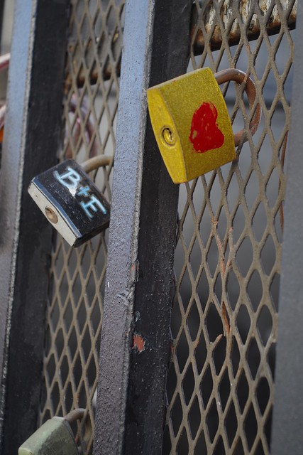 Indian Alley Gate with Locks