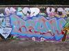 Bean graffiti, Trellick Tower