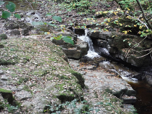 Small Waterfall in the Nant Llech Valley