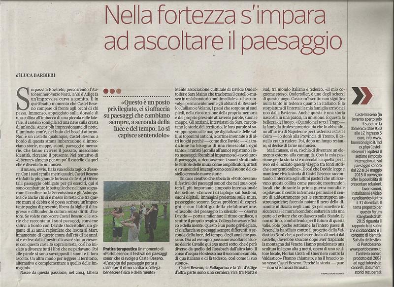 Corriere della Sera 05-12-2014 Orizzonti