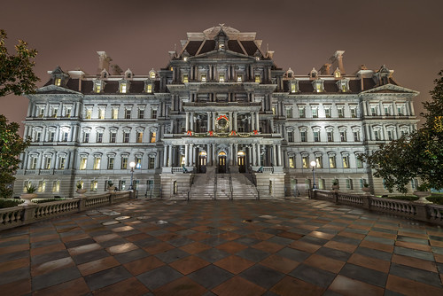 The Old Executive Office Building by Geoff Livingston