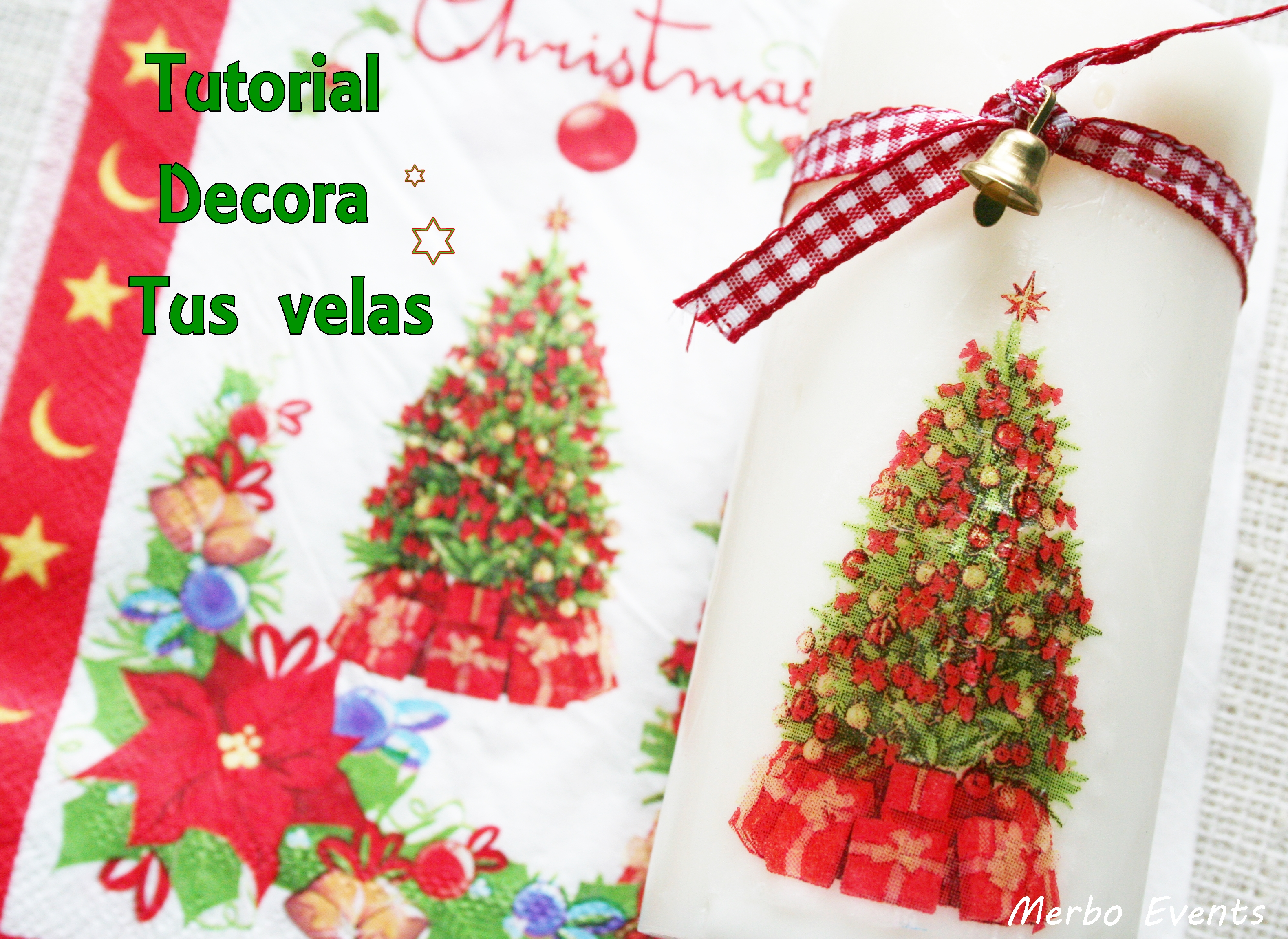 tutotial decora velas