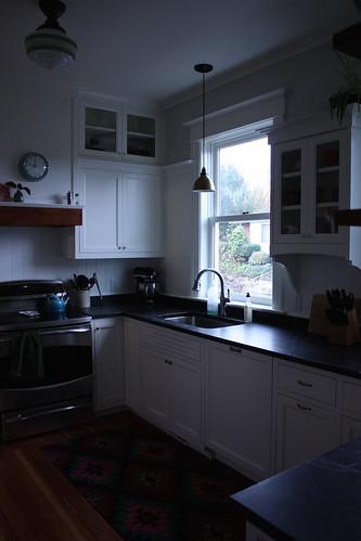 Kitchen, Southeast corner
