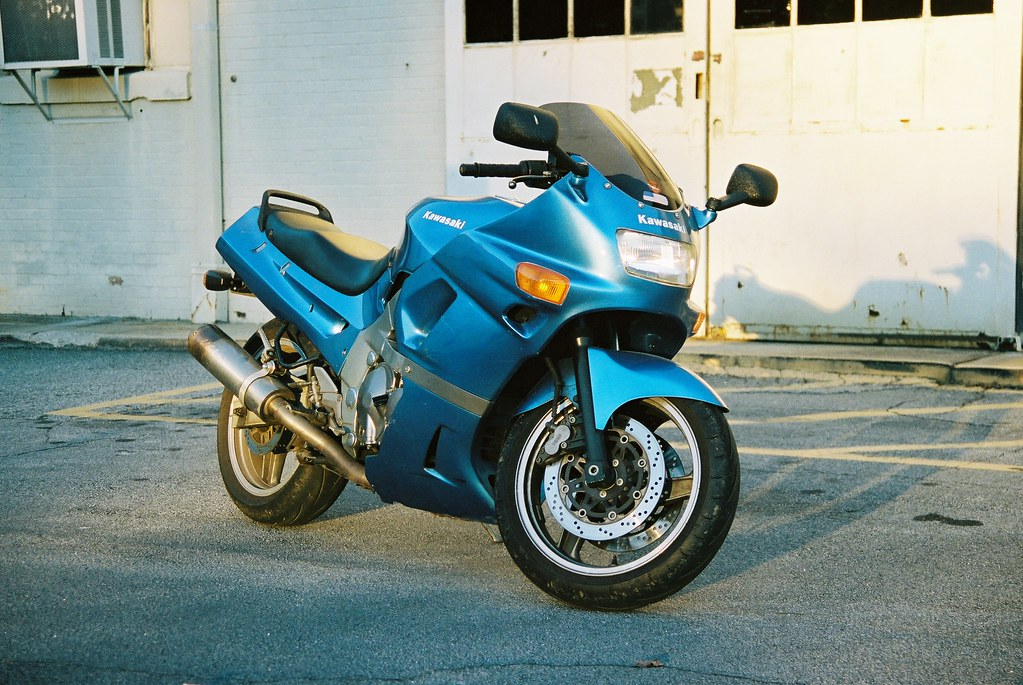 Kawasaki ZX600D | Testing out a 'new' Canon AE-1 I purchased… | Flickr
