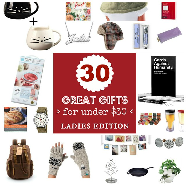 Neverhomemaker 30 Gifts For 30 Or Less Ladies