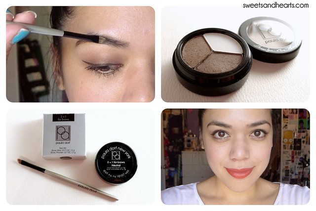Beauty Blurb: Paula Dorf 2+1 for Brows Neutral Powder & Perfect Brow Brush Review